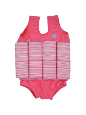 Children's Floatsuit Pink Candy 1-2 Years