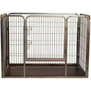 Iconic Pet, Heavy Duty Kennel, Pet Crate, 36-in