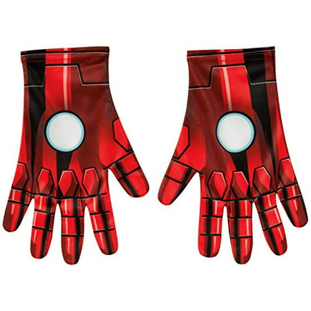 Rubie's Costume Men's Marvel Universe Adult Iron Man Gloves, Multi, One Size - Iron Man Movie Quality Costume