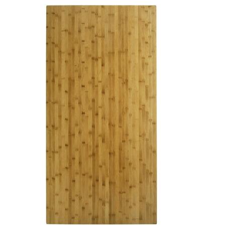 BOON Living Natural Bamboo Thick Table Top - Walmart.com
