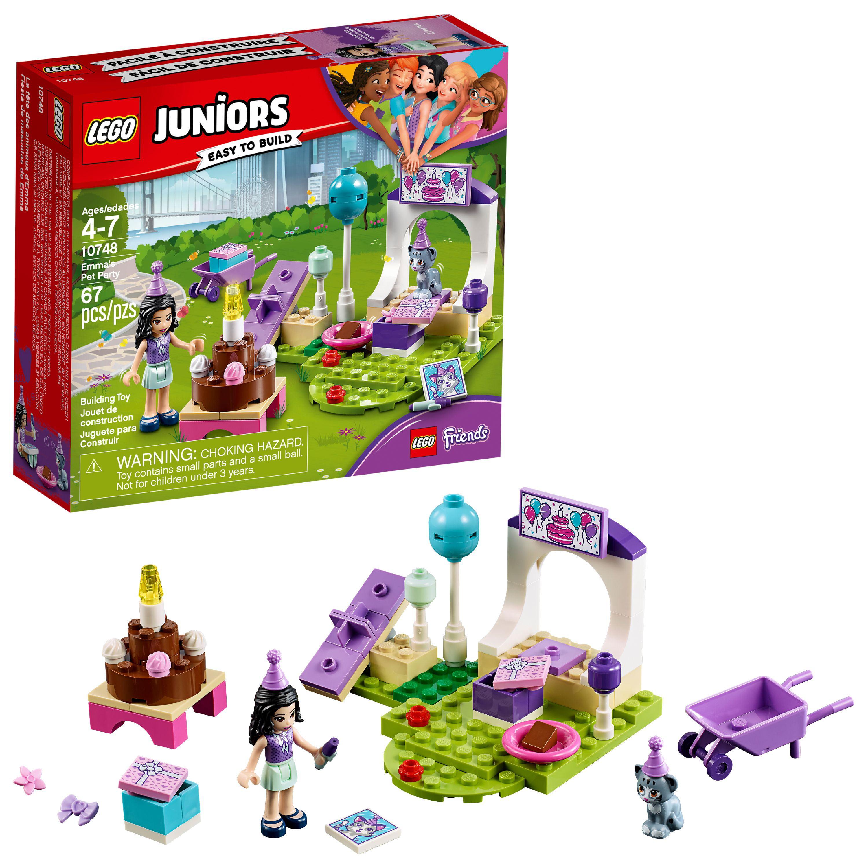 LEGO Juniors Emma's Pet Party 10748 Building Set (67 Pieces)