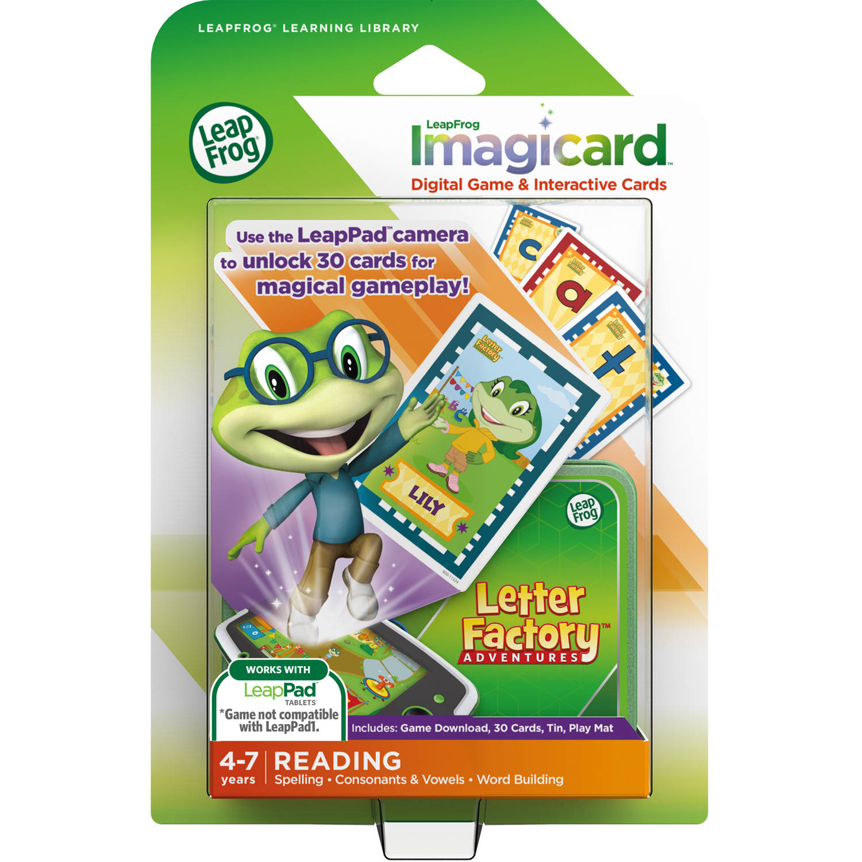 LeapFrog IMagicard Letter Factory Adventures Learning Game by LeapFrog