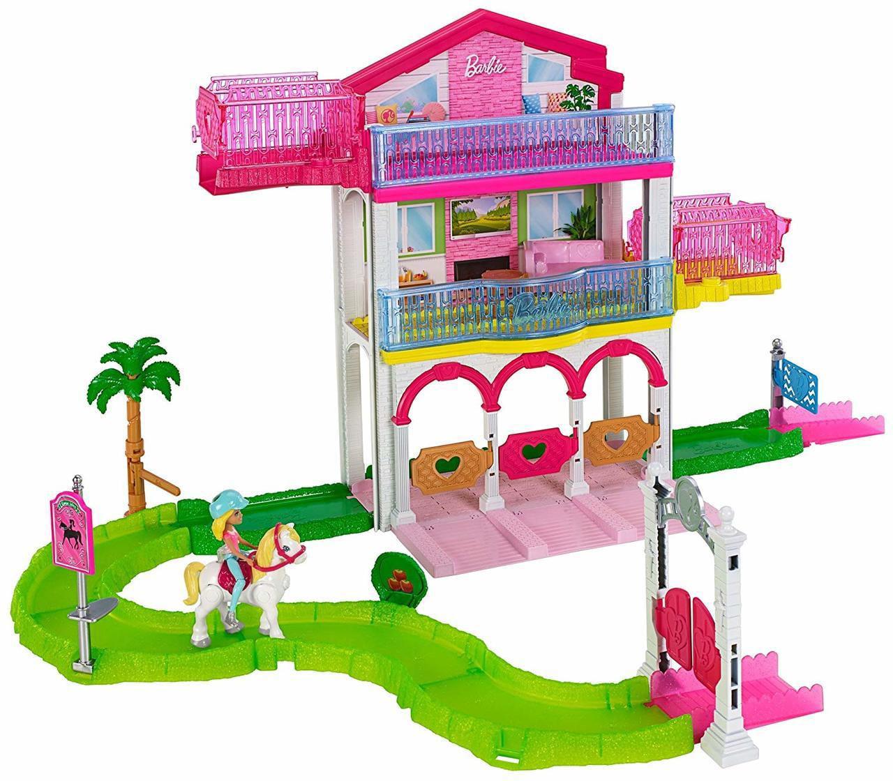 Barbie On The Go Ultimate Stable Playset Walmart Com Walmart Com