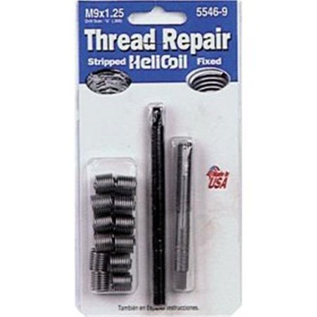 Helicoil 5546-9 M9x1.25 Metric Coarse Thread Repair