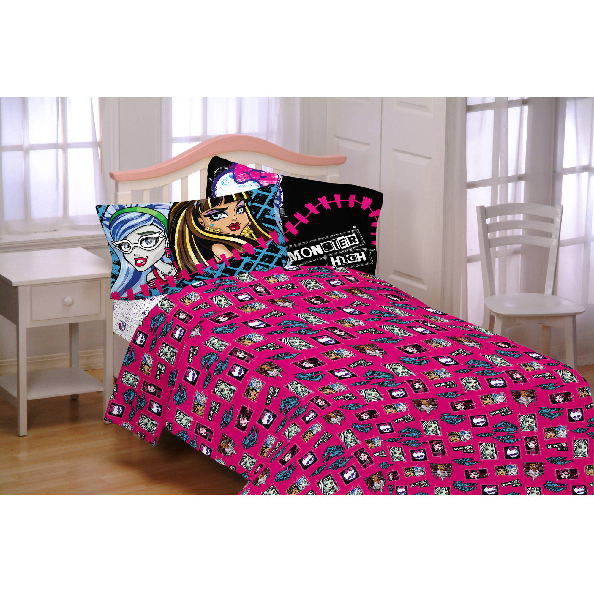 Monster High All Ghouls Allowed Bedding Sheet Set