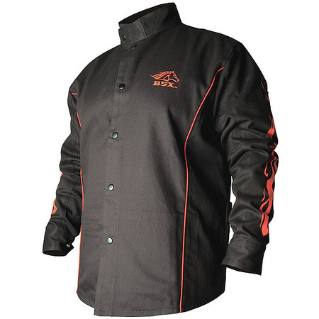 Bsx BX9C FR Welding Jacket, Cotton