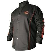 Revco Industries BX9C-3XL BSX Contoured FR Welding Black/Flames Jacket XXX-Large