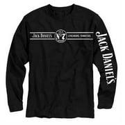 Jack Daniels Men's Lynchburg, Tennessee Long Sleeve T-Shirt - Black 33261425JD-89