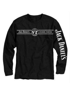 411192e1d Product Image Jack Daniels Men's Lynchburg, Tennessee Long Sleeve T-Shirt -  Black 33261425JD-89