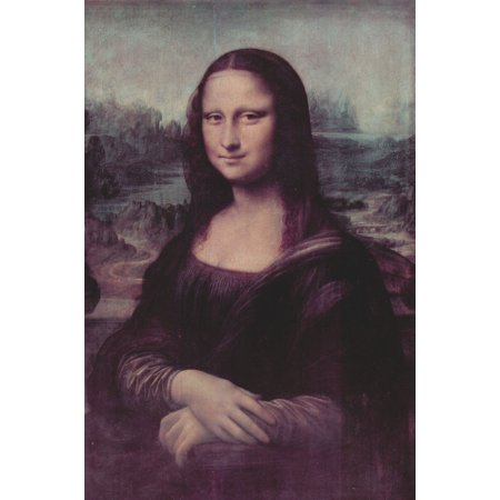 Framed Art for Your Wall Leonardo da Vinci - Mona Lisa 10 x 13 Frame