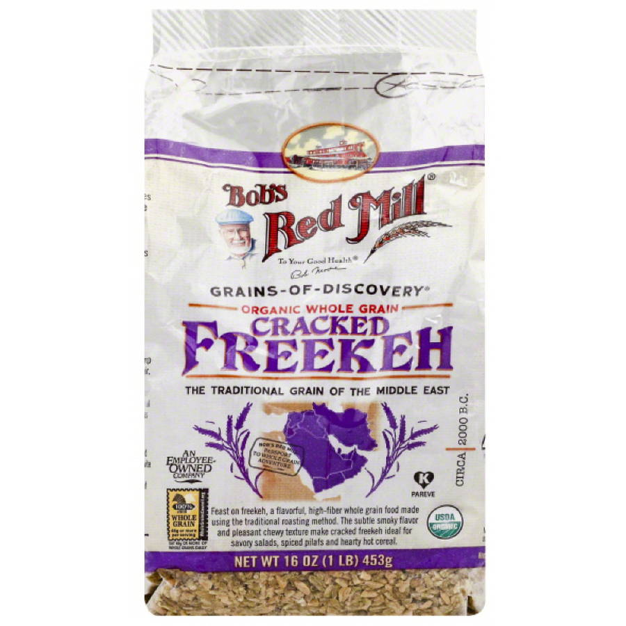 Bob's Red Mill Organic Cracked Freekeh, 16 oz, (Pack of 4)