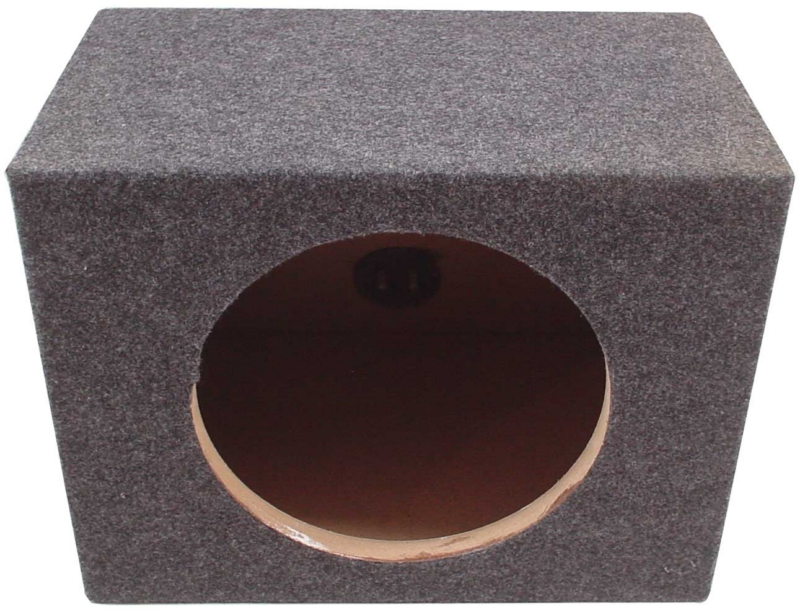 Car Audio Dual Subwoofer Enclosure Sealed Bass Stereo 12-Inch Speaker Sub Box