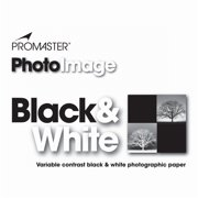 PhotoImage B&W VC Photo Paper - 8x10, 25 PK, Glossy