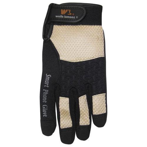 Wells Lamont Women's Synthetic Smart Phone Gloves, Medium