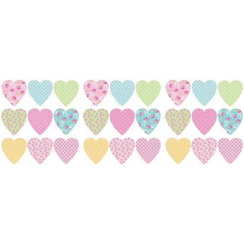 Fun4Walls Pretty Hearts Wall Decals