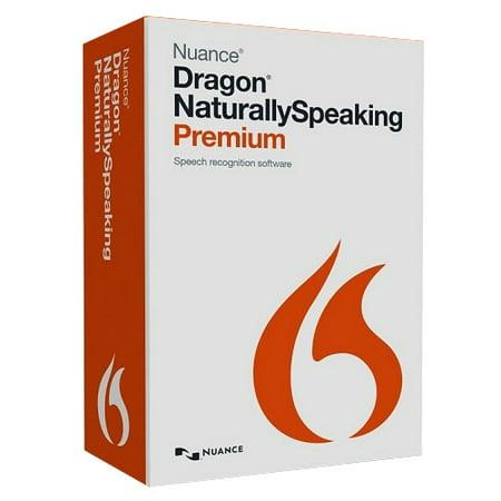 Dragon Network Sensor Software - Nuance Dragon NaturallySpeaking v.13.0 Premium Student/Teacher - 1 User