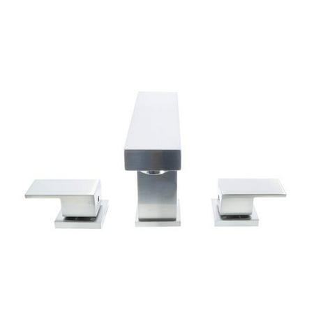 Dyconn Faucet Hoover 3 Hole Widespread Bathroom