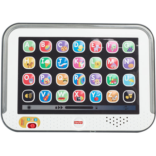 Fisher-Price Laugh & Learn Smart Stages Tablet, Gray