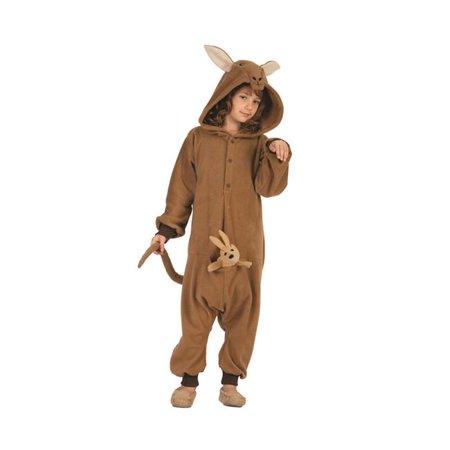 Kittle Kangaroo Child Funsie Costume, Small - Kangaroo Costume