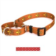Yellow Dog Design M-NRP101S New Red Polka Dot Martingale Collar - Small