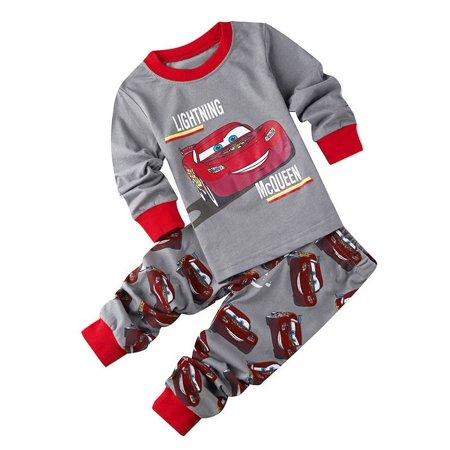 b820fd2ab578 Toddler Baby Boy Kids Car Printed Cotton Sleepwear Nightwear Pj s ...