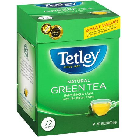 (6 Boxes) TetleyÃÂî Natural Green Tea 72 ct