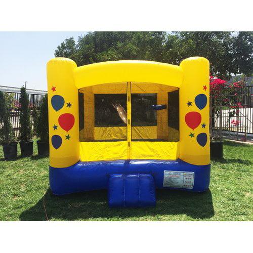 JumpOrange Kiddo 10' x 10' Balloon Party Bounce House
