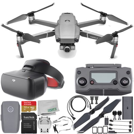 51566953806 DJI Mavic 2 Zoom Drone Quadcopter with 24-48mm Optical Zoom Camera with DJI  Goggles Racing Edition Starter Bundle - Walmart.com