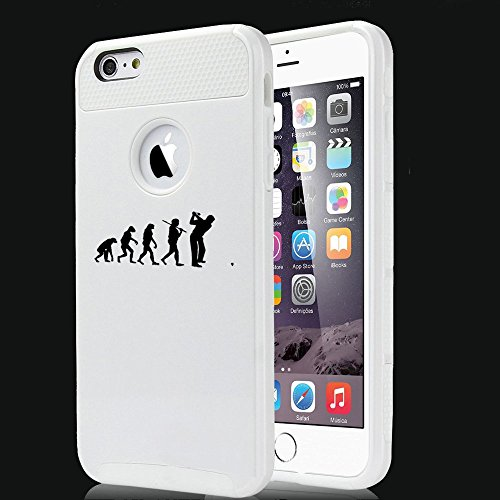 Apple iPhone 5 5s Shockproof Impact Hard Case Cover Evolution Golf (White),MIP