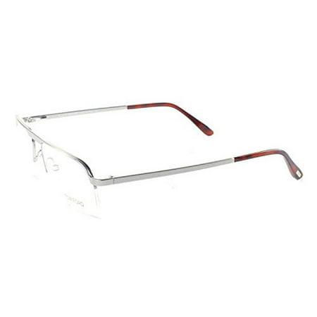 dd96275c76 Tom Ford Mens Eyeglasses FT5168-019 Metal Semi-Rimless Shiney Silver Frames  - greencommunitiescanada. Tom Ford Unisex Eyeglasses FT5334-032 Round Gold  Horn ...