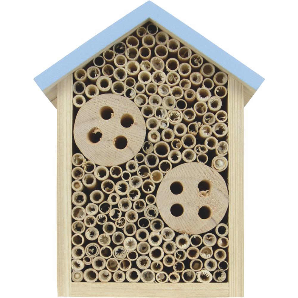 Natures Way Bird Prdts-Nature's Way Bee House- Assorted 8x6x3.5 (Case of 6 )
