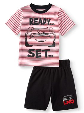 c8dc43b30599 Product Image Cars T-Shirt & Shorts, 2pc Outfit Set (Toddler Boys)