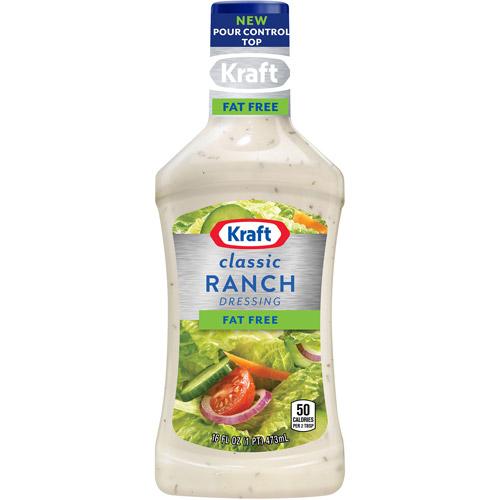 Kraft Salad Dressing: Free Ranch, 16 Fl Oz