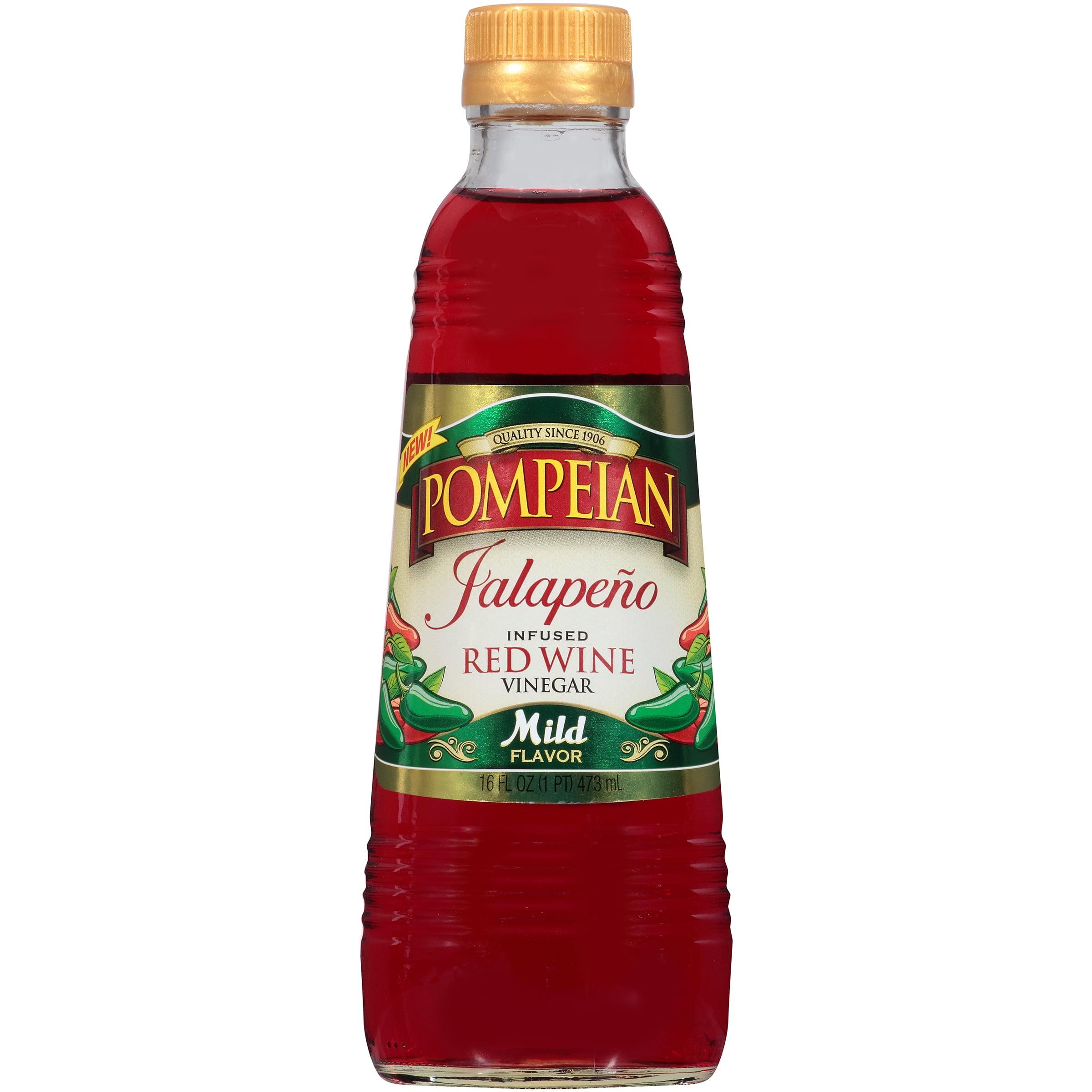 **Disco'd** Pompeian® Jalapeno Infused Red Wine Vinegar 16 fl. oz. Bottle