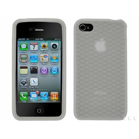 Cellet Clear Jelly Case For Apple iPhone 4