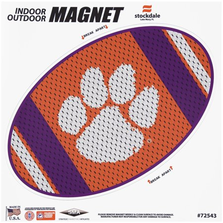 Oval Tiger - Clemson Tigers Jersey 12