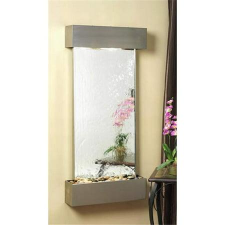 Adagio CSS2040 Cascade Springs - Silver Mirror Wall (Mirror Wall Fountain)