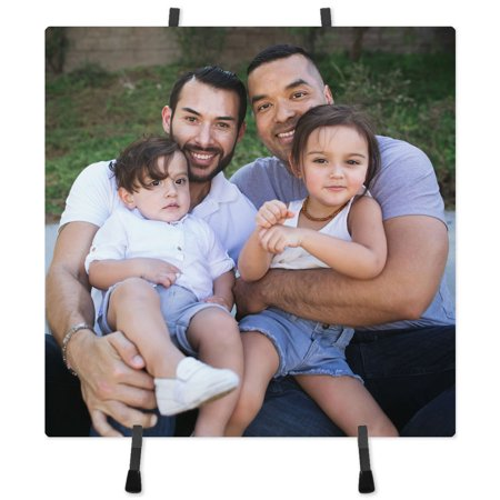 8x8 Ceramic Photo Tile with Easel