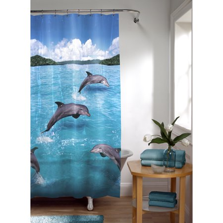 Maytex Splash PEVA Vinyl Shower Curtain