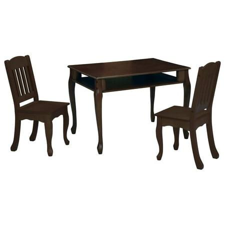 Teamson Kids Windsor Rectangular Table and Chair Set - Walmart.com