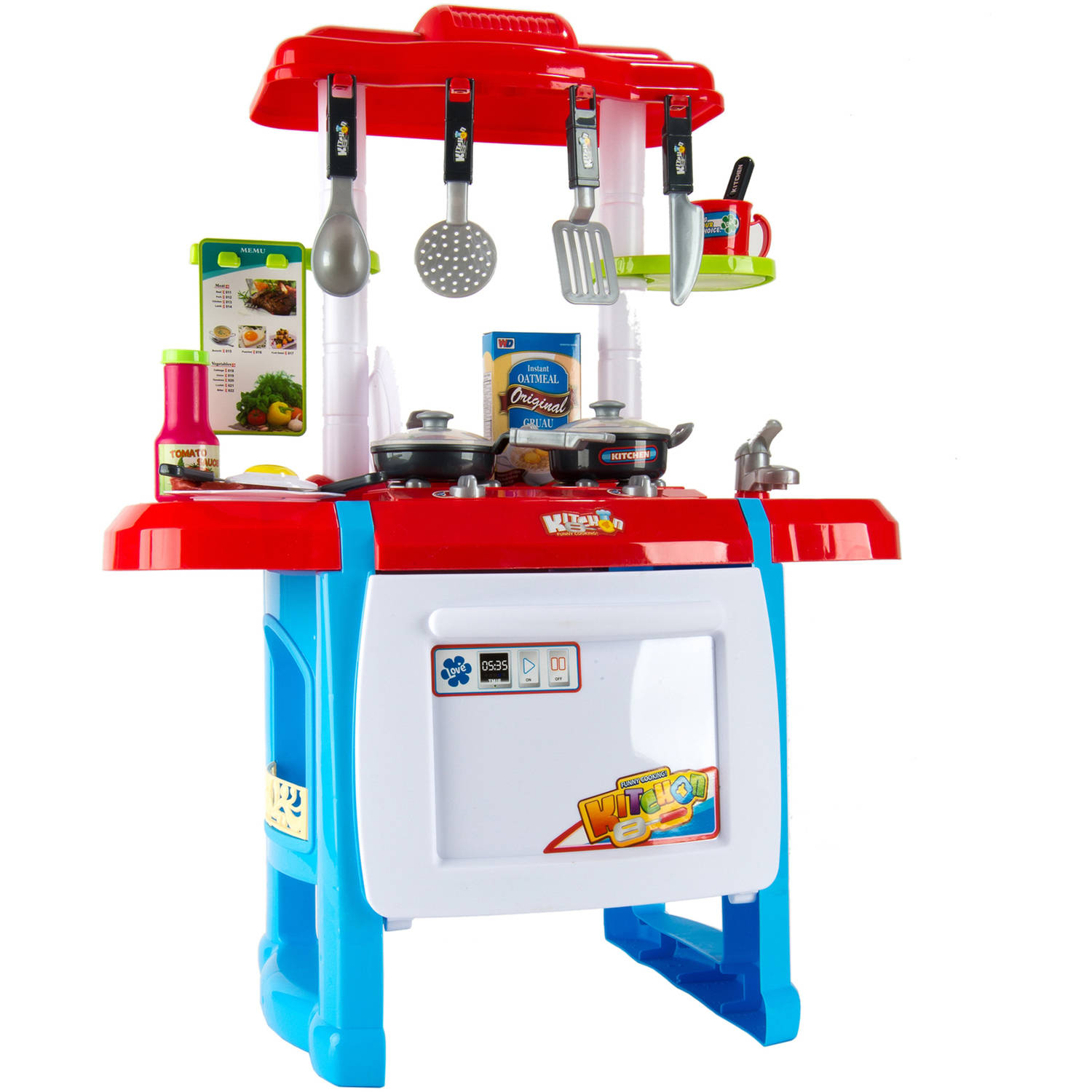 Jumbo Kitchen Miniature Chef Play Set Complete with Light and Sound ...