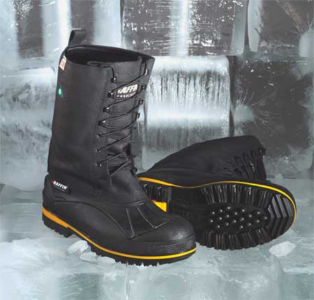 BAFFIN 9857-0998-001-8 Winter Boots,Mens,8,Lace,Steel,1PR