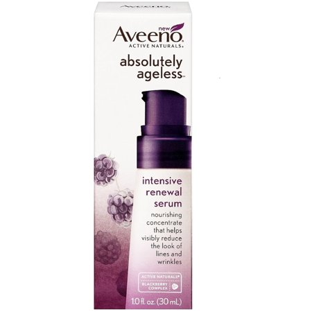 Omorovicza Radiance Renewal Serum - 3 Pack - AVEENO Active Naturals Absolutely Ageless Intensive Renewal Serum, Blackberry 1 oz