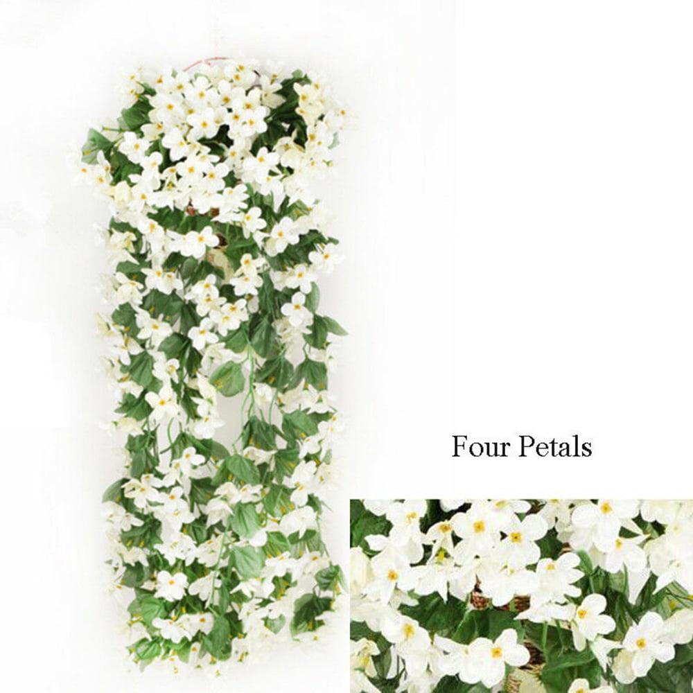 Artifical Hanging Fake Flower Ivy Vine Garland Plant Wedding Home Decoration