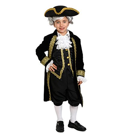 Dress Up America Kids Historical Alexander Hamilton costume Hamilton outfit for kids - Kids Historical Costumes