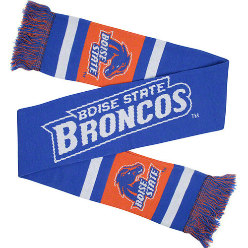 NCAA - Boise State Broncos Stripe Scarf