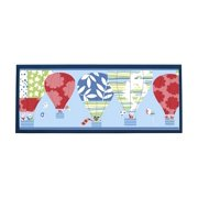 Hot Air Balloon Plaque