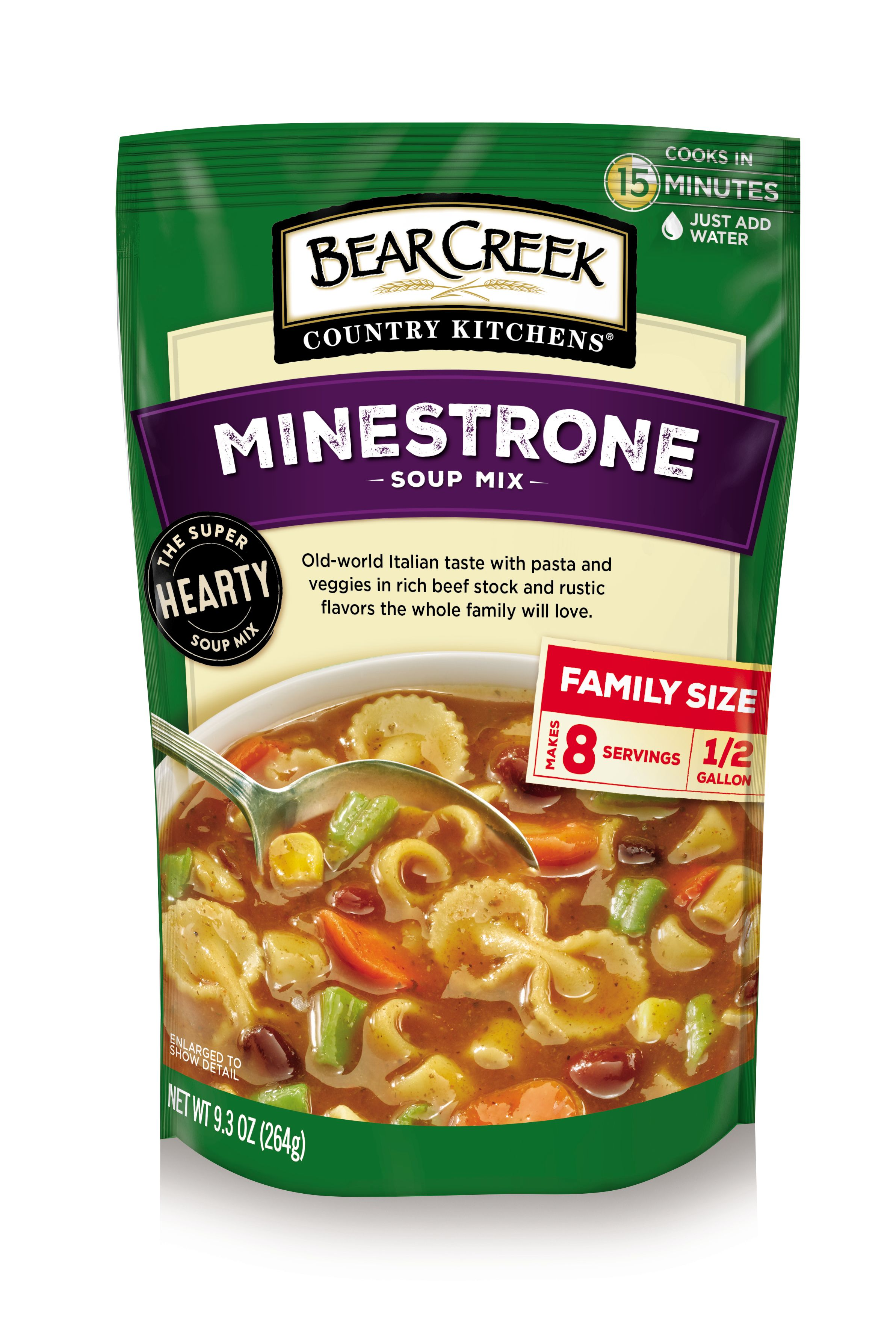 bear creek country kitchens minestrone soup mix  9 3 oz Bear Creek Navy Bean Soup Mix Bear Creek Soup Mixes Nutrition