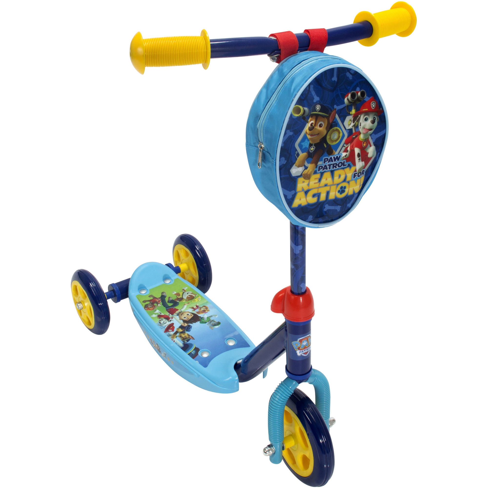Playwheel Paw Patrol 3-Wheel Kick Scooter