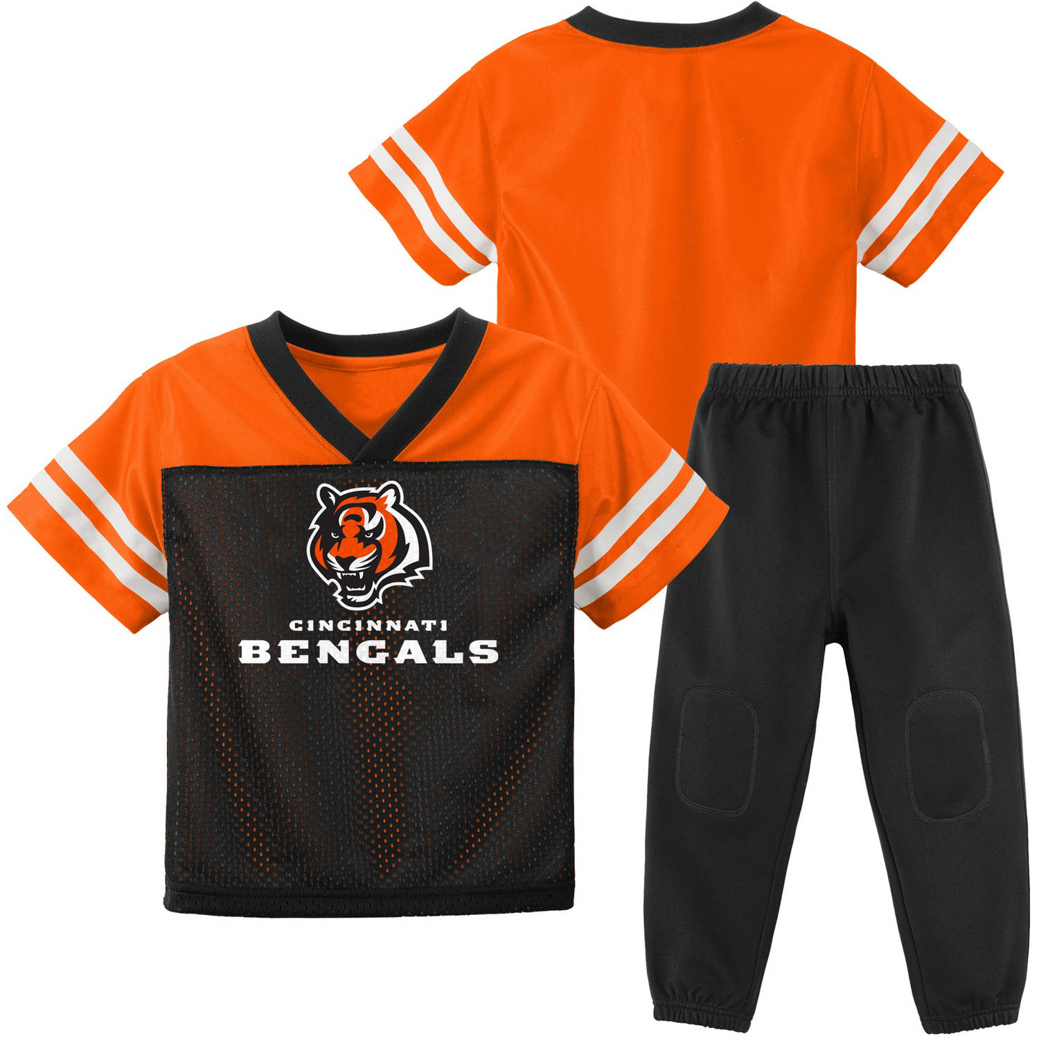 NFL Cincinnati Bengal Toddler Short Sleeve Top and Pant Set